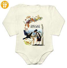 Amazing The Cat Returns Design Baby Long Sleeve Romper Bodysuit Small - Baby bodys baby einteiler baby stampler (*Partner-Link)
