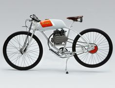 Motorized bicycle...board track racer style.