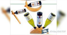 Wine Bottle Holder Plans - Woodworking Plans and Projects | WoodArchivist.com