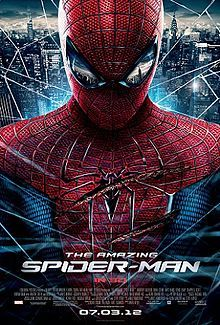The Amazing Spider-Man is a 2012 American superhero film directed by Marc Webb, based on the Marvel Comics character Spider-Man. It is a reboot of the Spider-Man film series, portraying the character's origin story and his development into a superhero while a high school student.