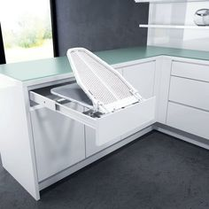 Vauth Sagel Drawer Mount Pull-Out Ironing Board White 9000 0120 – Laundry Room İdeas 2020 Laundry Room Layouts, Laundry Room Remodel, Small Laundry Rooms, Laundry Room Storage, Laundry Closet, Pull Out Ironing Board, Ironing Board Storage, Ironing Boards, Laundry Room Design