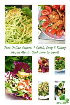 Quick easy filling vegan meals course enroll to receive 7 quick easy filling vegan meals course enroll to receive 7 delicious easy forumfinder Choice Image