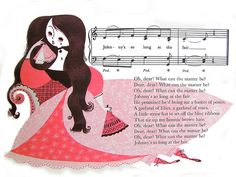 llustration by Mary Blair from 'My First Sing-A-Song Book' 1966 edition.