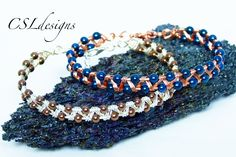 In this tutorial I show you how to make an easy zig zag wirework bracelet that gives a nice delicate look with a high impact. Please feel free to give it a g...