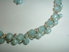 vintage star silver plated pale blue moonglow by fadedglitter42263, $48.00