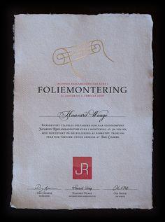 Diploma by Sindre Dahl, via Behance