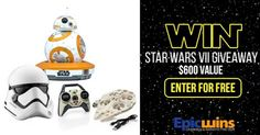 Enter the Epic Wins Star Wars VII Giveaway at  http://epicwins.us/giveaways/starwars/?lucky=34135 via @epicwinsus