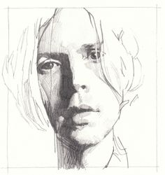 Beck portrait, pencil on Bristol board, 01/03/14
