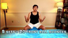http://www.steventocher.com/2015/01/exercise-ball-cardio-year-2-episode-2.html - #cardio #exerciseball #exercise #sweating #sweat #core #corestrength