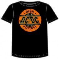 "#AC/DC "" High Voltage Logo"" T-Shirts - Madcap Music and More.com   #Licensed $15.95"