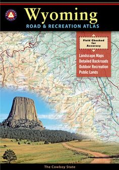 Wyoming Road & Recreation Atlas - Benchmark Maps