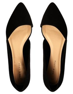 Got these! New Look Jingy Black Asymmetric Pointed Flat Shoes