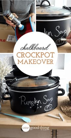 How To Give Your Crockpot A Fun And Functional Makeover - One Good Thing by JilleePinterestFacebookPinterestFacebookPrintFriendlyPinterestFacebook