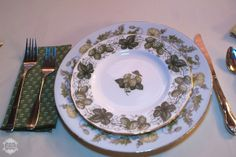 MismatchedChina - My China ~ mismatched china for rent - RENT MY DUST Vintage Rentals at wedding with mismatched napkins