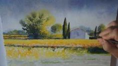 aquarelle jacques williet - YouTube