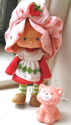 Vintage Strawberry Shortcake Doll and Her Cat by TheJunkieJunction, $20.00