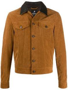 Designer Lightweight Jackets for Men 2019 - Farfetch Anorak Jacket, Windbreaker Jacket, Shirt Jacket, Versace Jacket, Work Jackets, Collar Shirts, Printed Shirts, Leather Jacket