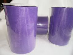 Purple 6 Tulle rolls of 100 Yard  Tulle for Tutu by tiasdresses,