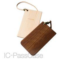 木でタッチするICパスケース・カードケース・定期入れ「IC-PassCase」