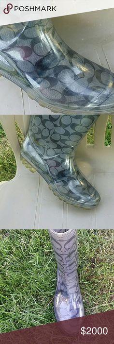 Coach Rainboots Extra pictures Coach Shoes Winter & Rain Boots