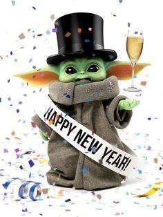 Happy New Year Baby Yoda