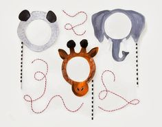 The House That Lars Built.: DIY printable animal masks