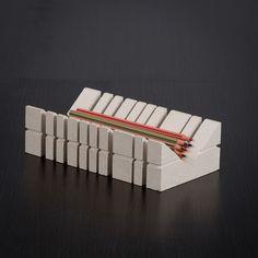 Handmade stone pencil holder Pencil Holder, Texture, Stone, Wood, Crafts, Handmade, Surface Finish, Rock, Manualidades