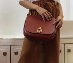 55ea4d8de23b  Mulberry bags 2017 Mulberry Fall Winter 2017 Amberley Satchel Brick red Small  Classic Grain