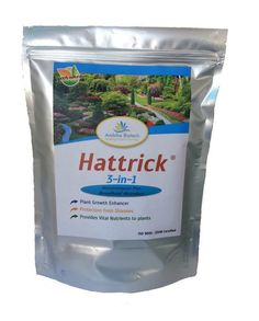Hattrick: Complete Plant Food and Organic Fertilizer for Soil, for Vegetables, Flowers, Gardens