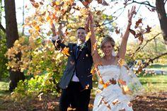 Obviously need this photo at my fall wedding!
