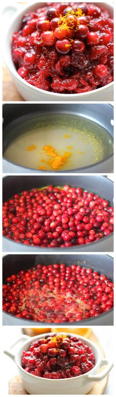 Cranberry Orange Sauce - Skip the canned cranberry sauce this Thanksgiving and make it right at home – it's embarrassingly easy with just 3 ingredients!