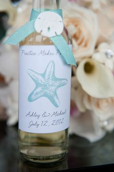 Personalized gift for guests at your wedding or at the rehearsal dinner.