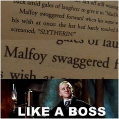 Funny pictures about Draco did it before it was cool. Oh, and cool pics about Draco did it before it was cool. Also, Draco did it before it was cool. Harry Potter Puns, Harry Potter Universal, Tom Felton, Hogwarts, Ron Weasly, The Dark Side, Film Anime, Plus Tv, Yer A Wizard Harry