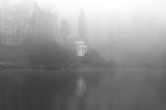 finienfotodesign - Fotokünstlerin Verena Maria - » verenas fotografische traumreisen - Schatten in der Nebelwelt #natur #nature #wasser #water # Entspannung #finienfotodesign #verenamaria #stille #silence #portfolio #fotografie #photography #art #fog #nebel #kassel #schloss