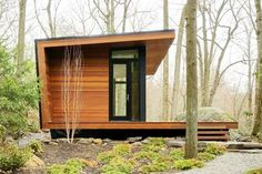 Warm, Woodsy, Modern Cabins from Architizer