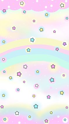 Cute pastel wallpaper, star wallpaper, hello kitty wallpaper, lock screen w Unicorn Wallpaper Cute, Cute Pastel Wallpaper, Cute Wallpaper For Phone, Hello Kitty Wallpaper, Kawaii Wallpaper, Pink Wallpaper, Pattern Wallpaper, Wallpapers Android, Star Wallpaper