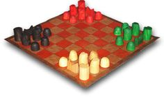 Gothic Green Oak - medieval board games