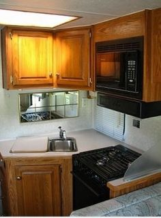Organizing an RV Kitchen