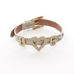 a746a62770d45 Wunderschönes Armband von D in Grau - mit funkelnden Schmuckelementen