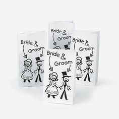 Wedding Treat Bags For Kids - Oriental Trading.com $3.75 per dozen