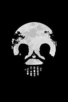 Couple love skull design❤ this is brilliant