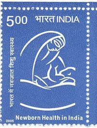 India Post - 2005 - 'New Born Health in India'