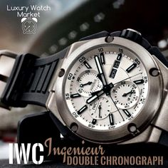 IWC Ingenieur Double Chronograph Fly Back Available Immediately @Luxury_Watch_Market