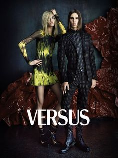 Karlie Kloss is Rocker Chic for Versus Fall 2012 Campaign by Daniele & Iango