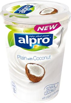Alpro Plain with Coconut brings you the perfect blend of soya goodness and refreshing coconut