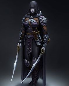 Title: Dark Assassin . . . Artist: Yoon Seseon From #artstation . . . . #tumblr #deviantart #fantasy #fantasyart #art #artwork #iloveart #artist #artoftheday #illustration #sketch #drawing #anime #instagood #ilovemyfollowers #instagram #digitalpainting #Knight #warriors #concept #