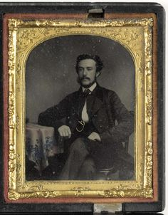 Anonymous | Portret man, Anonymous, 1860 |