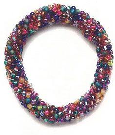 Learn how to make beaded crochet, including this crochet beaded bracelet.