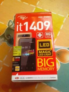 NEAT ITEL1409 8GB Inner memory....PHONE FOR SALE,BOUGHT IT RECENTLY,ABOUT 2WEEKS AGO,NO FAULT, CALL ME ON 07089030791. #iphoneonly #apple #ios #Android