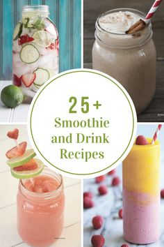 Smoothies and Drinks are great for outdoor entertaining, summer BBQ's, a nutritional breakfast, or just simply to quench your thirst.